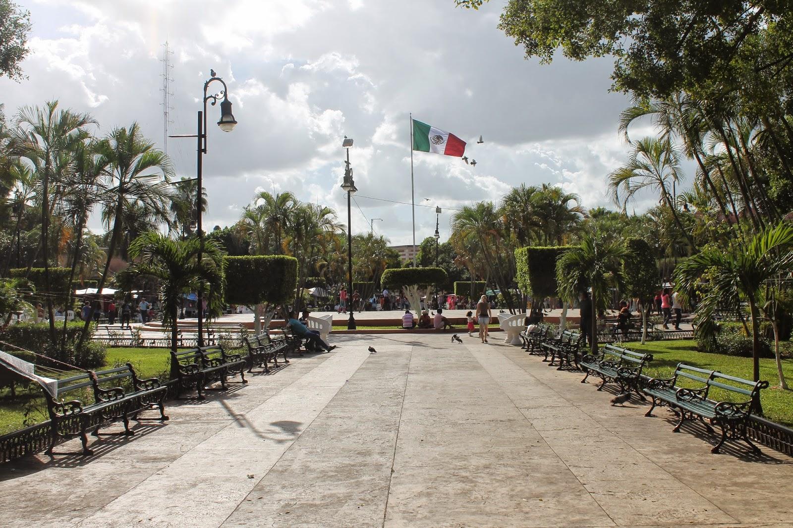 merida plaza messico
