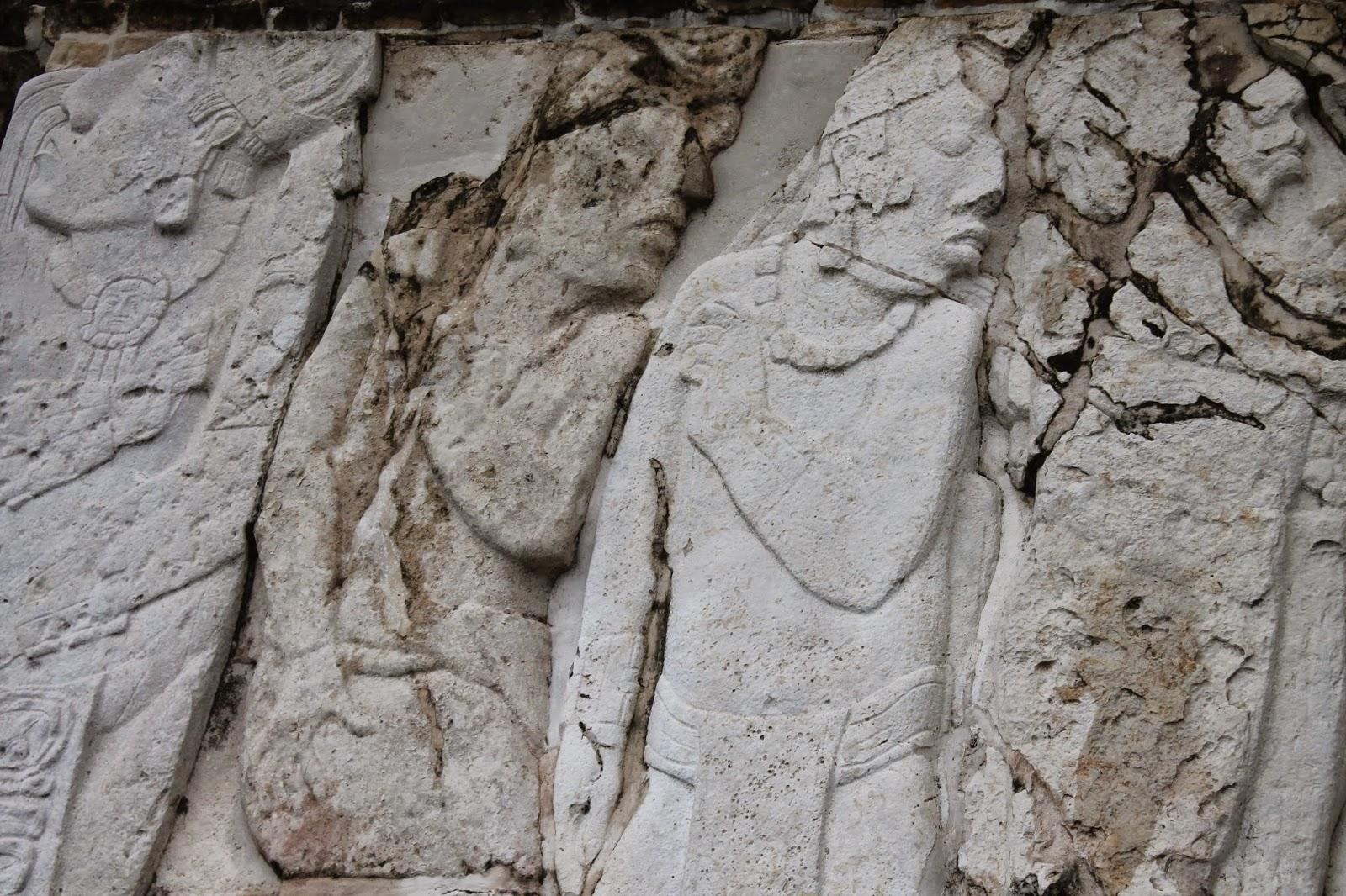 basso rilievi sito archeologico palenque_ chiapas messico