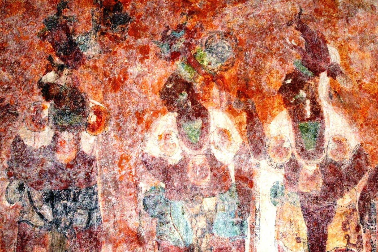 affreschi bonampak messico
