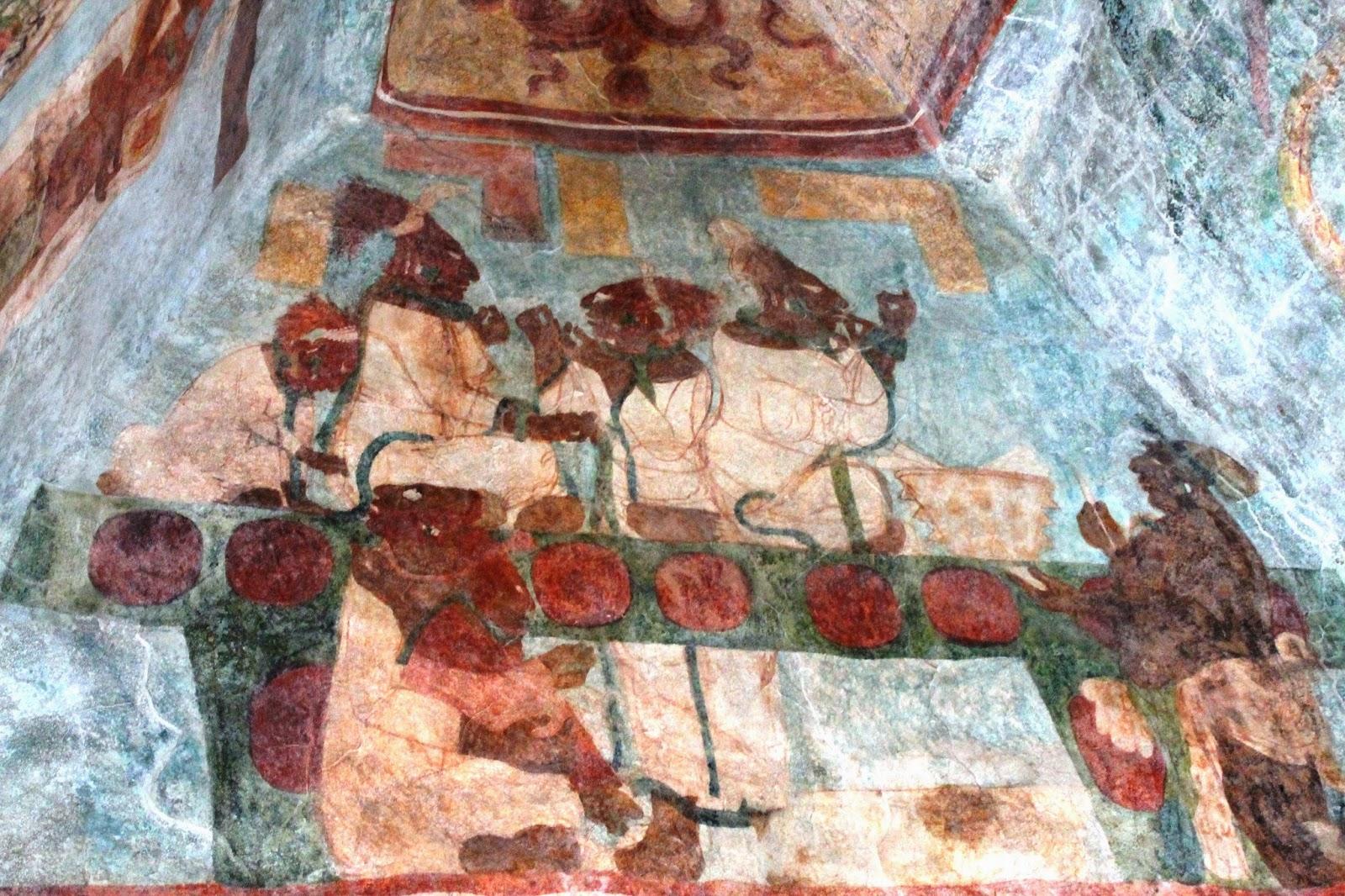 affreschi bonampak chiapas