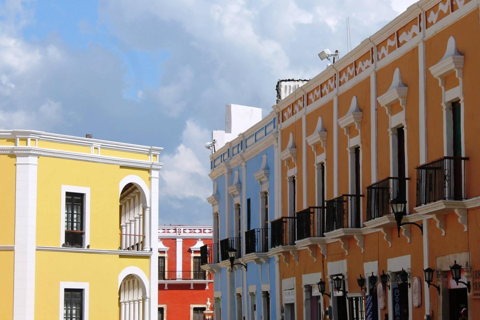 centro storico coloniale campeche messico