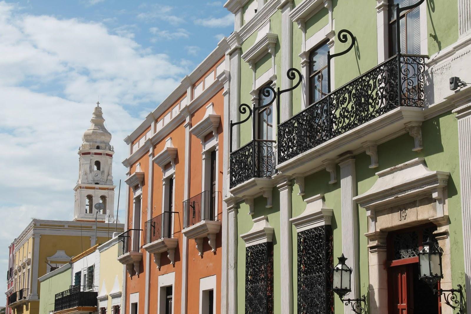 città coloniale campeche messico