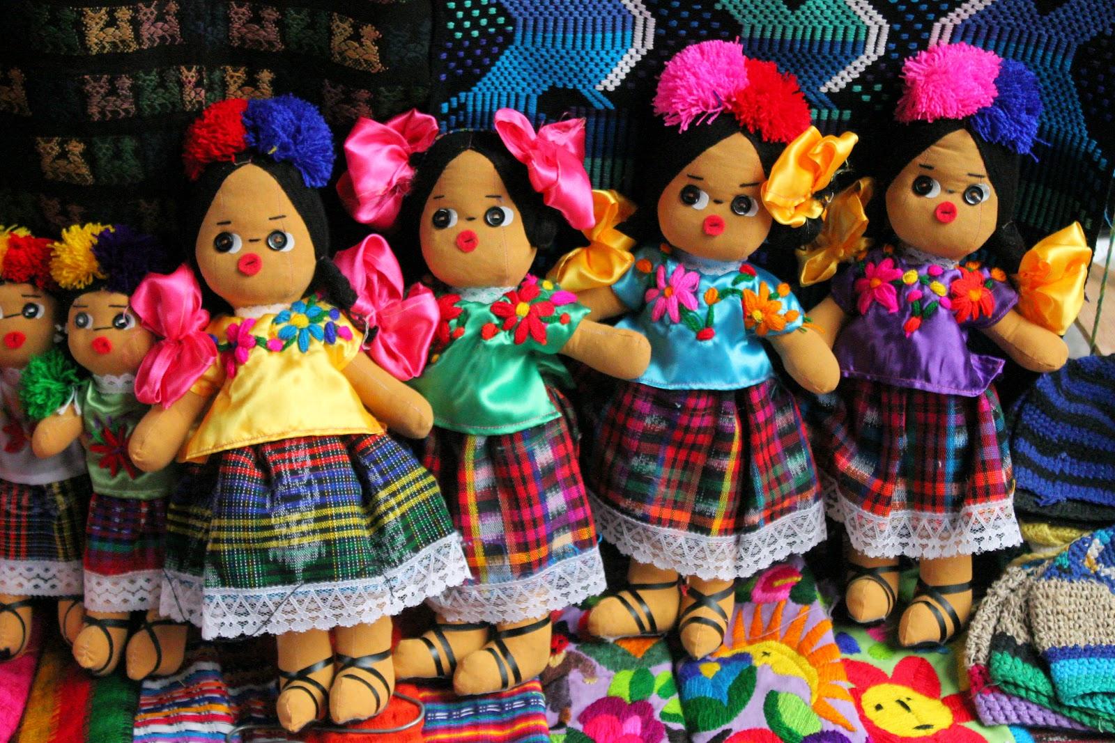 bamboline guatemalteche