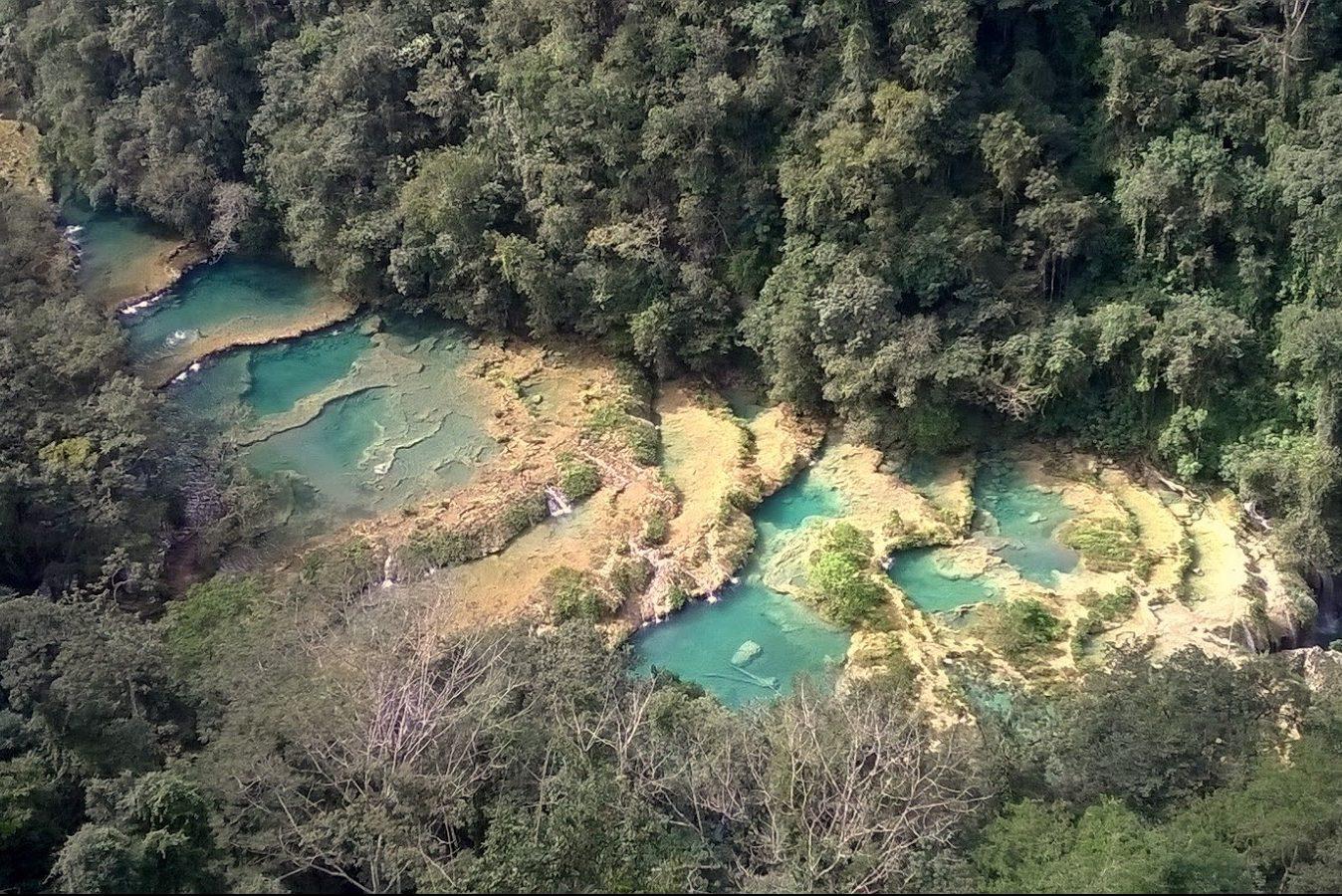piscine naturali semuc champey guatemala