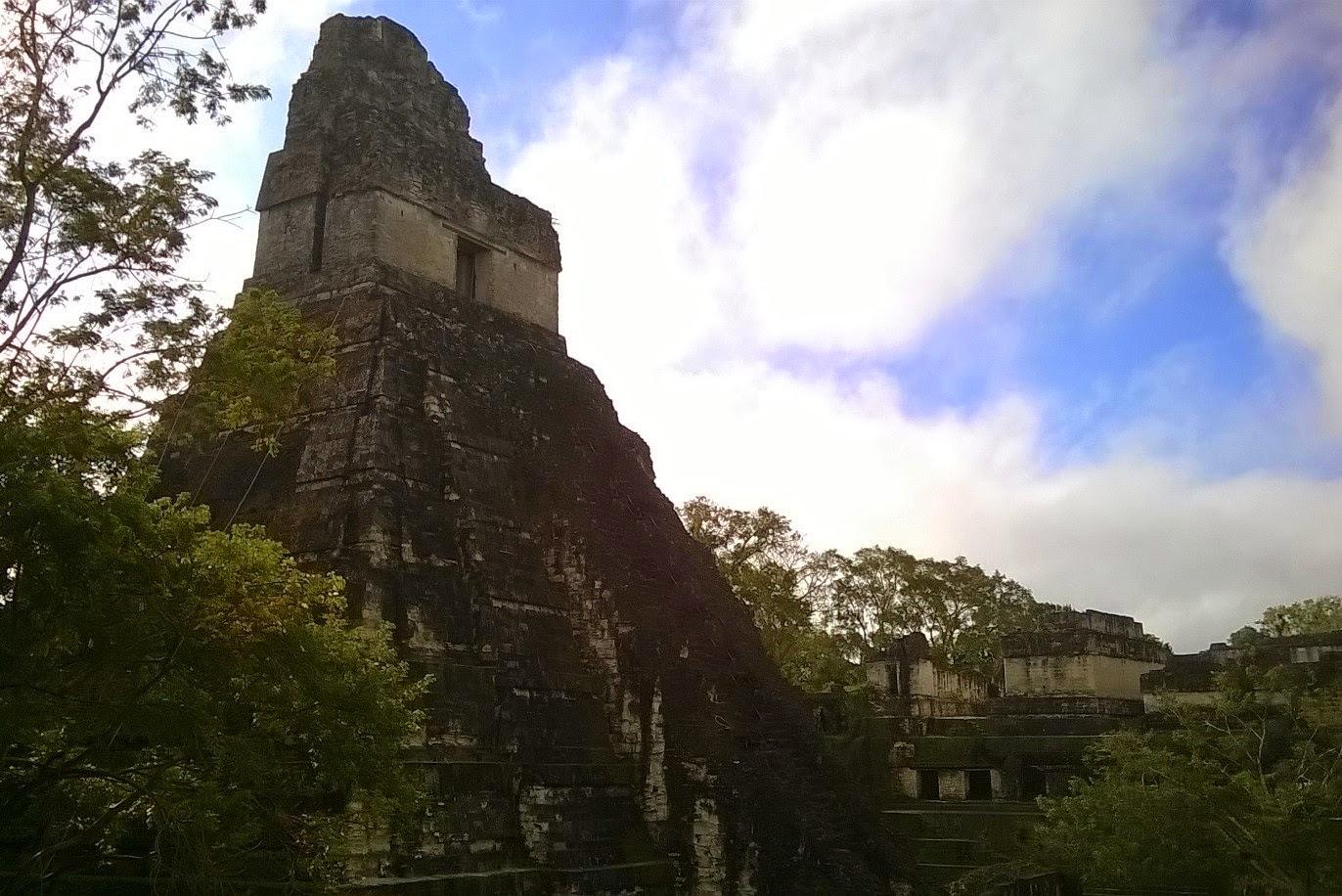 sito archeologico di tikal guatemala