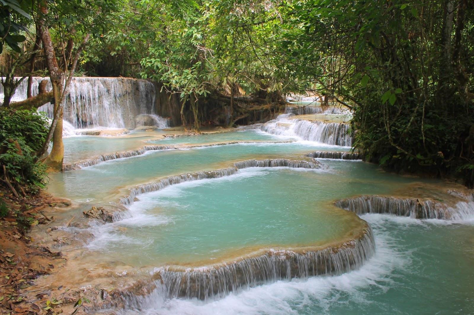 Gli imperdibili dintorni di Luang Prabang: le cascate di Kuang Si e le grotte di Pak Ou