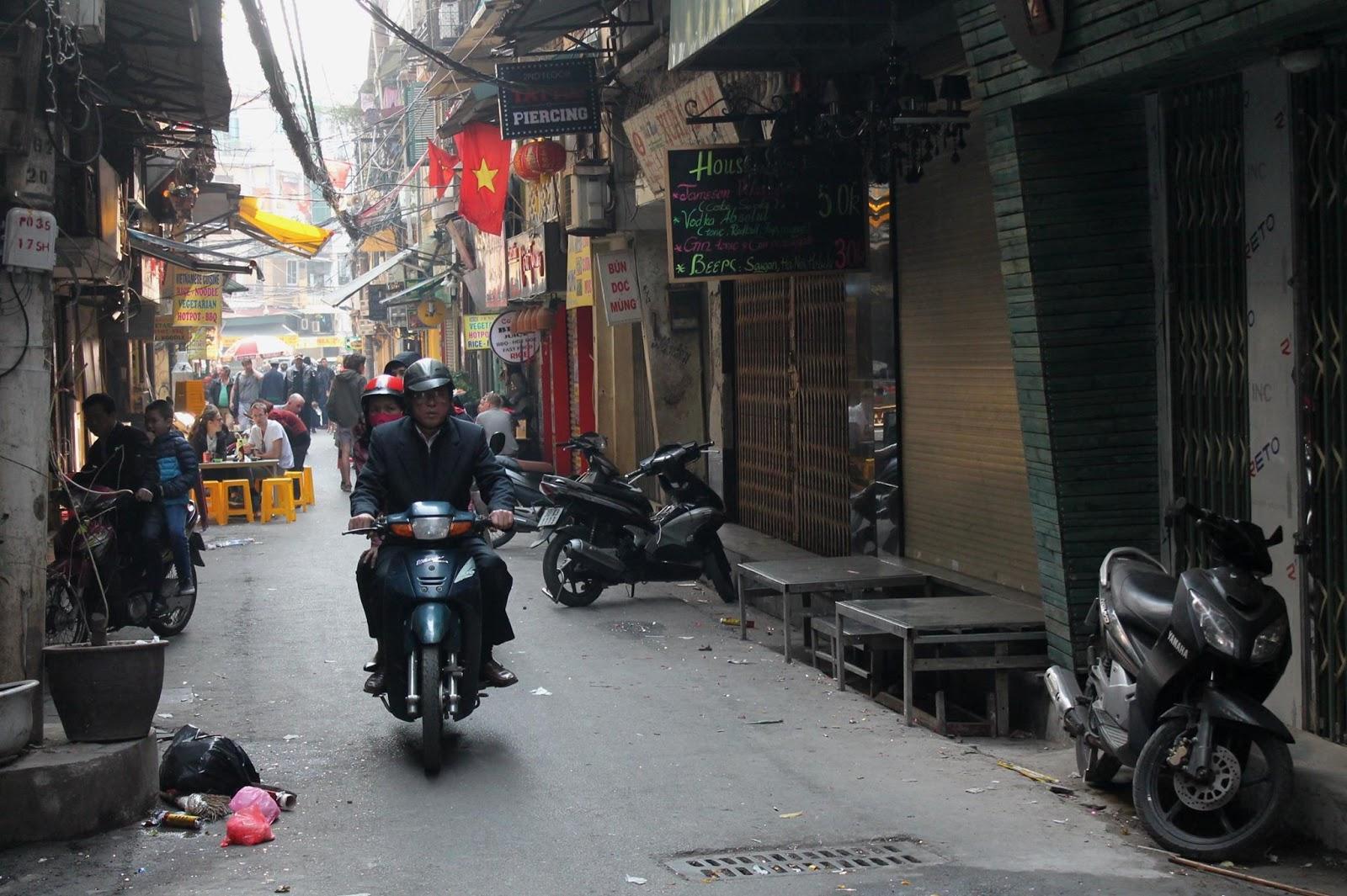 centro storico di hanoi vietnam