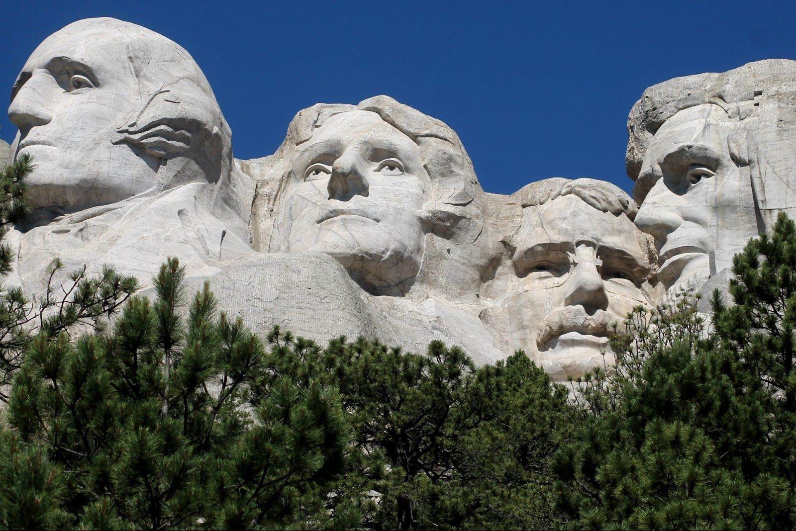 Il Mount Rushmore, icona degli USA