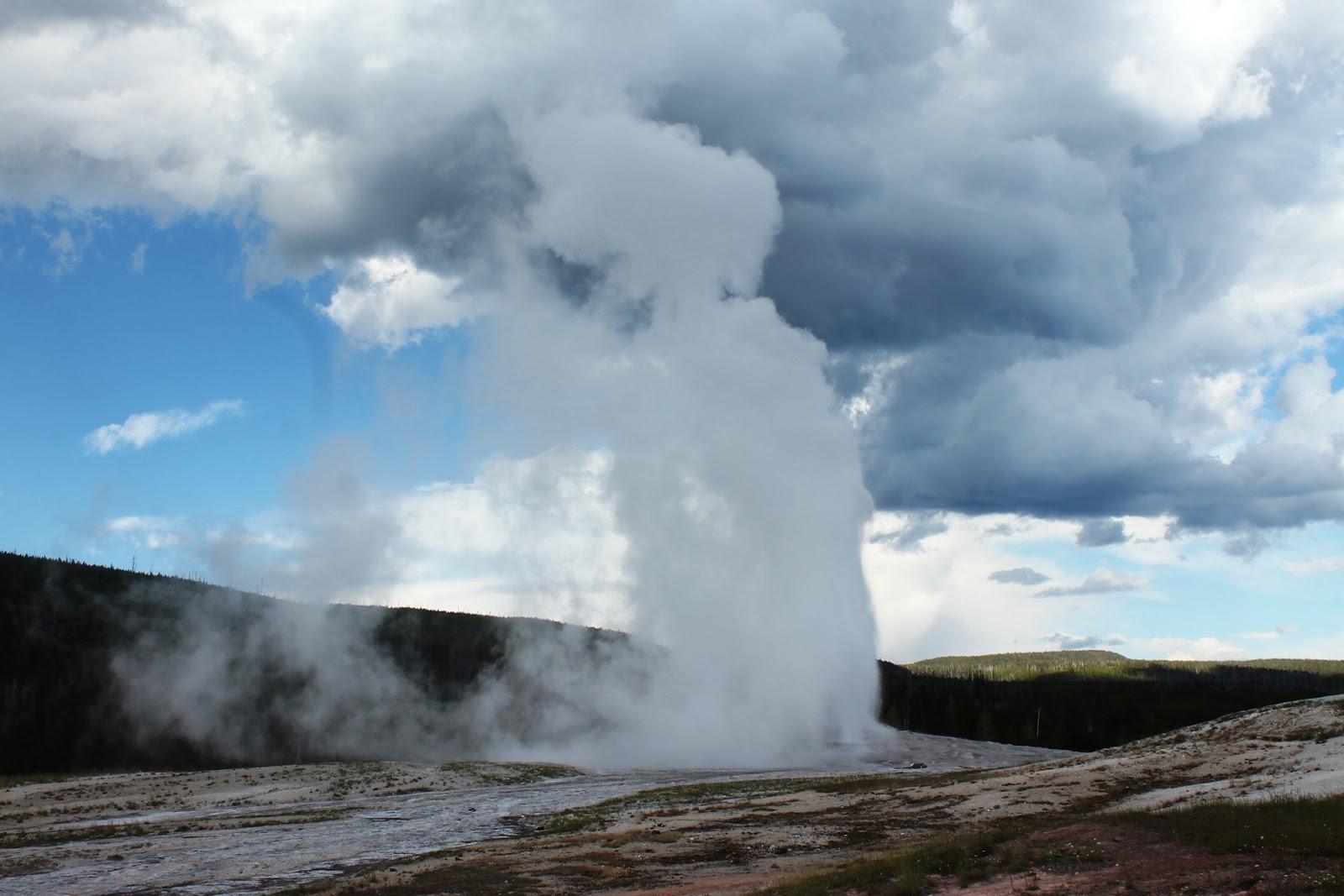 Itinerario dei nostri 4 giorni a Yellowstone…