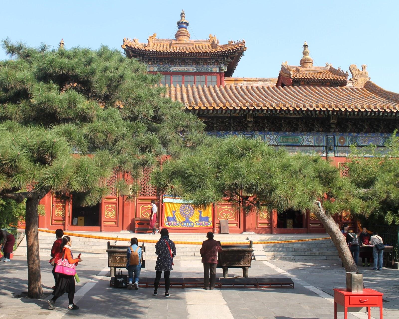 tempio del lama pechino cina
