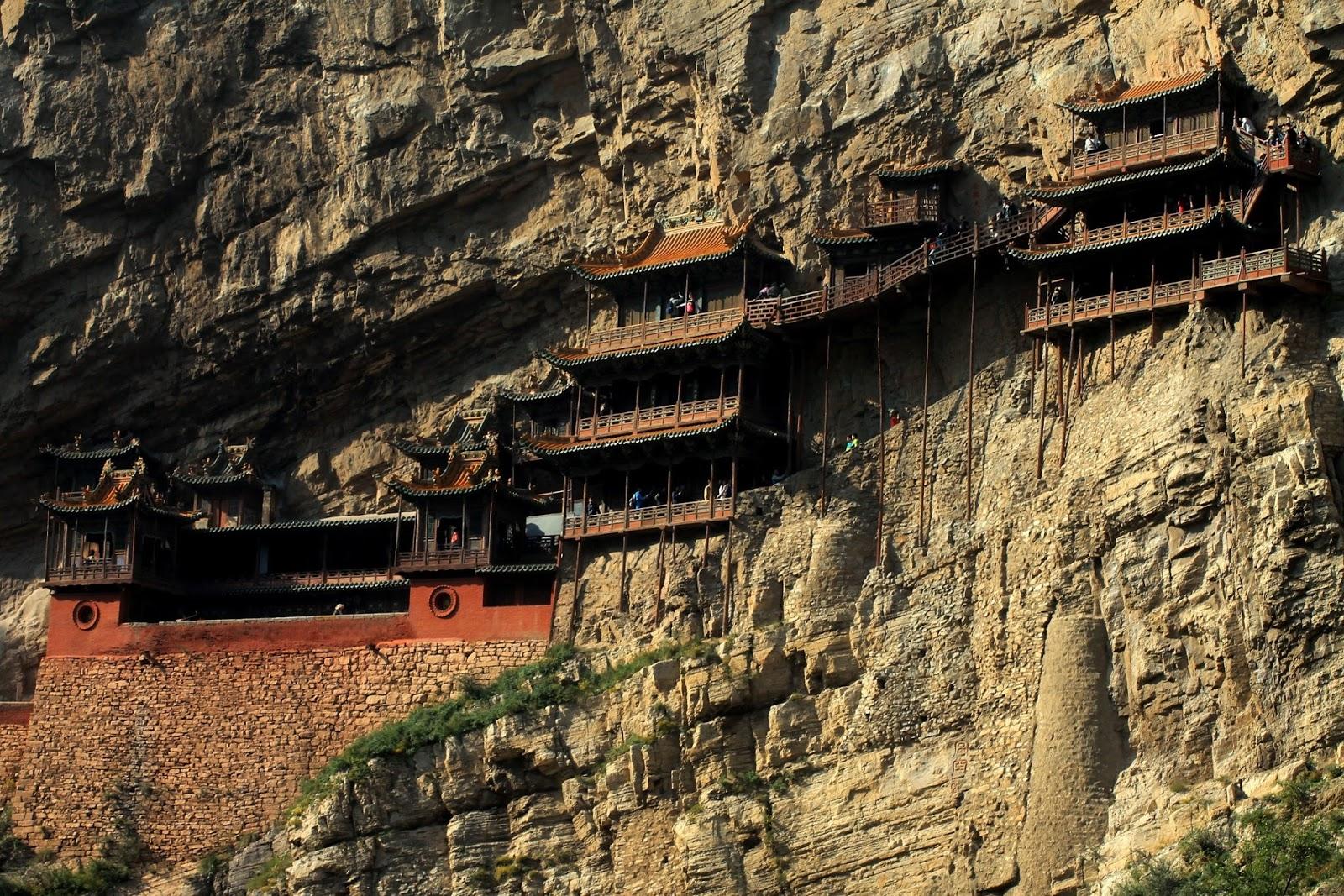 tempio sospeso datong cina
