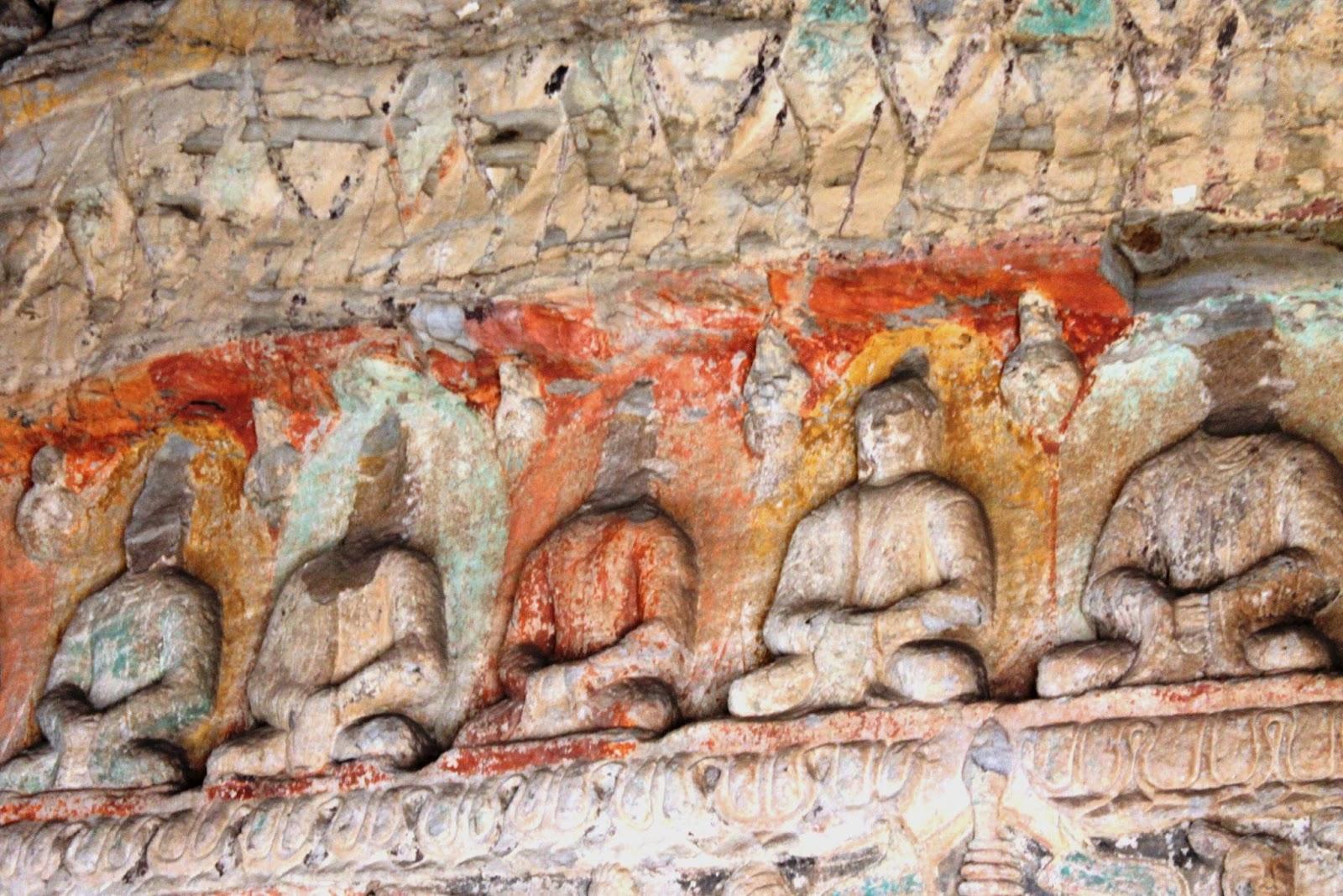 grotte yungang datong cina