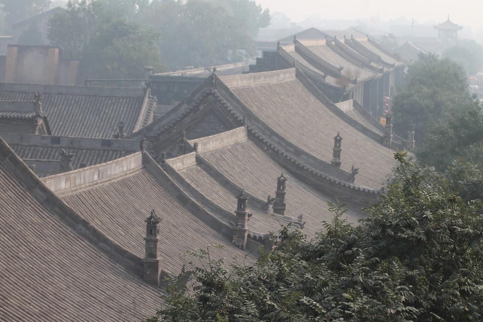 tetti di pingyao cina