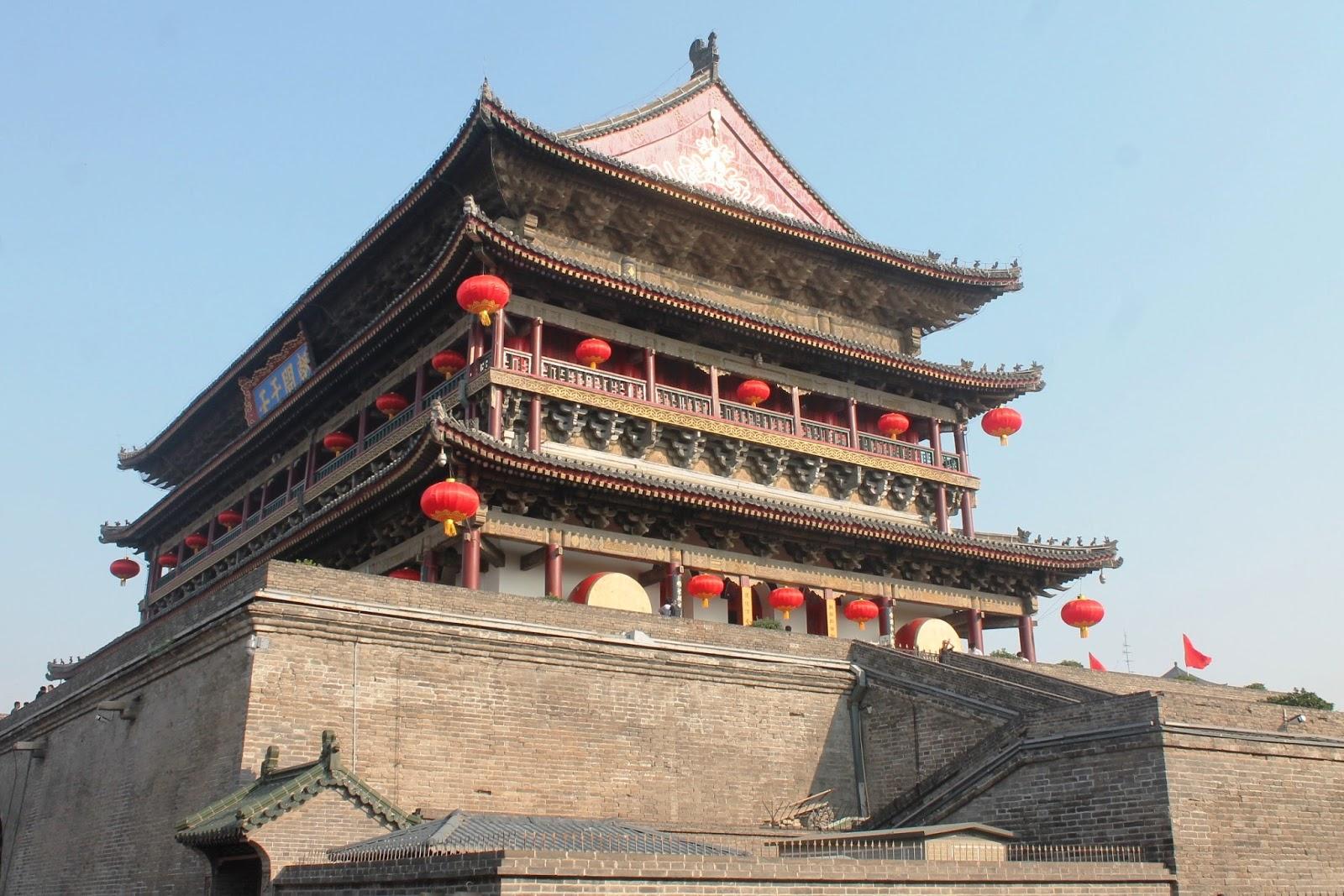 torre del tamburo xi'an