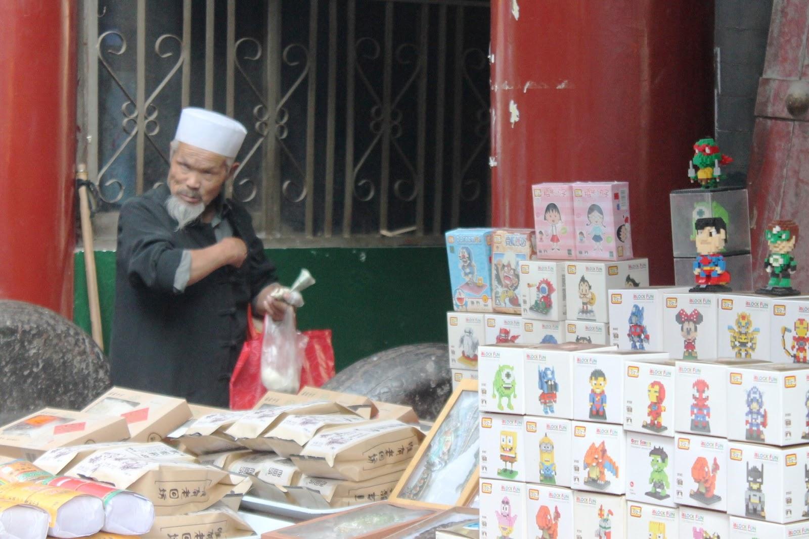 quartiere islamico xi'an cina