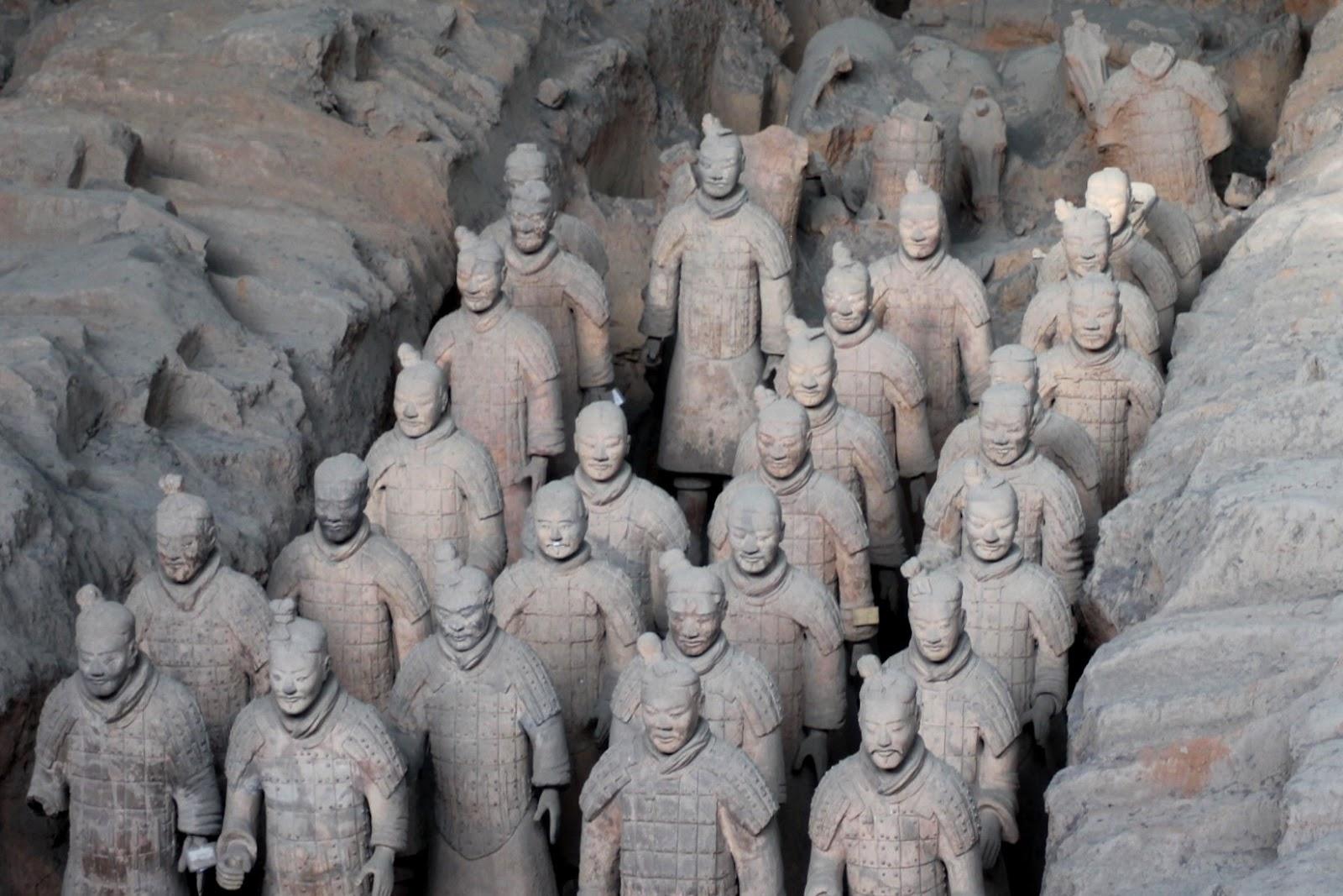 esercito di terra cotta xi'an