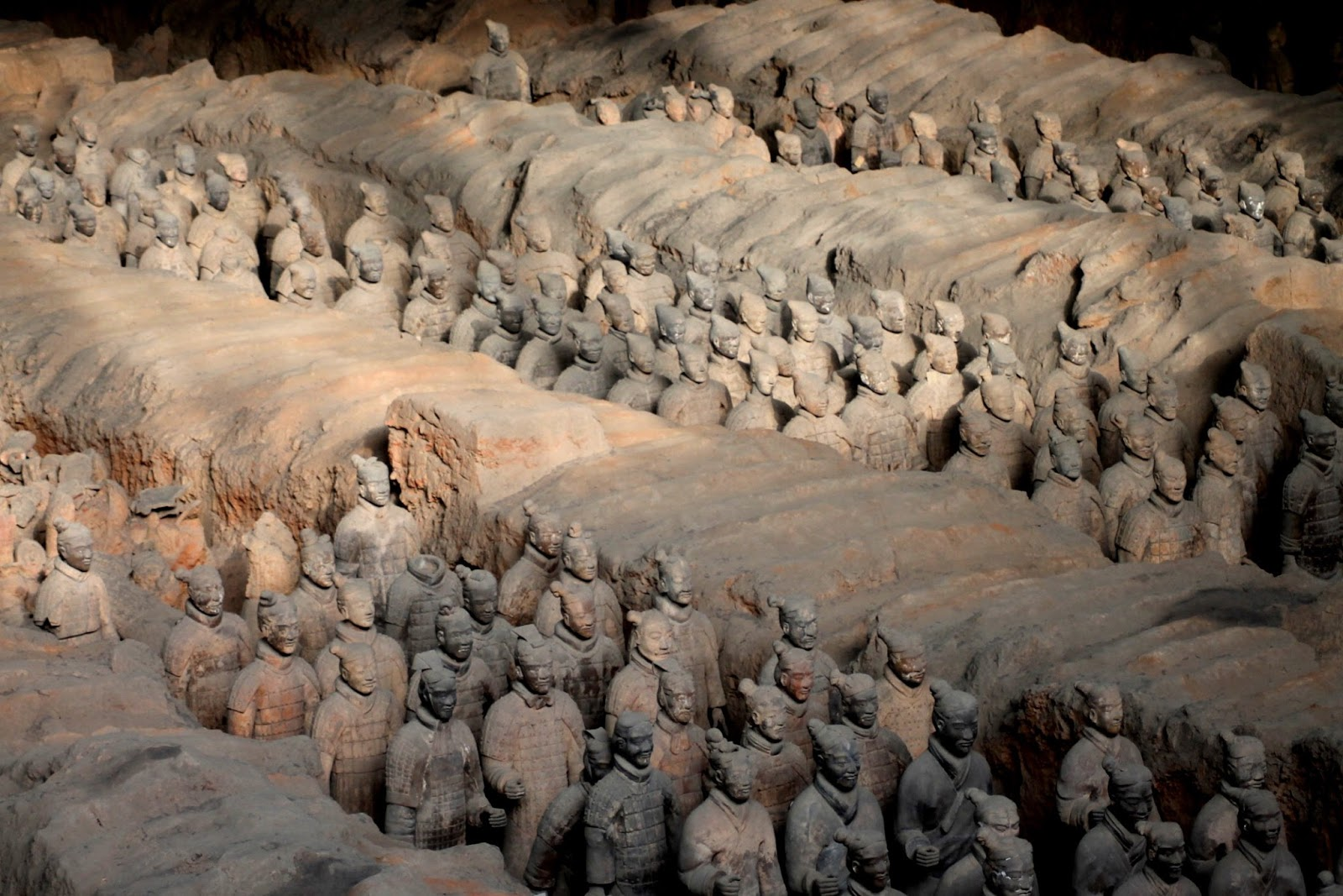 esercito di terracotta xian cina