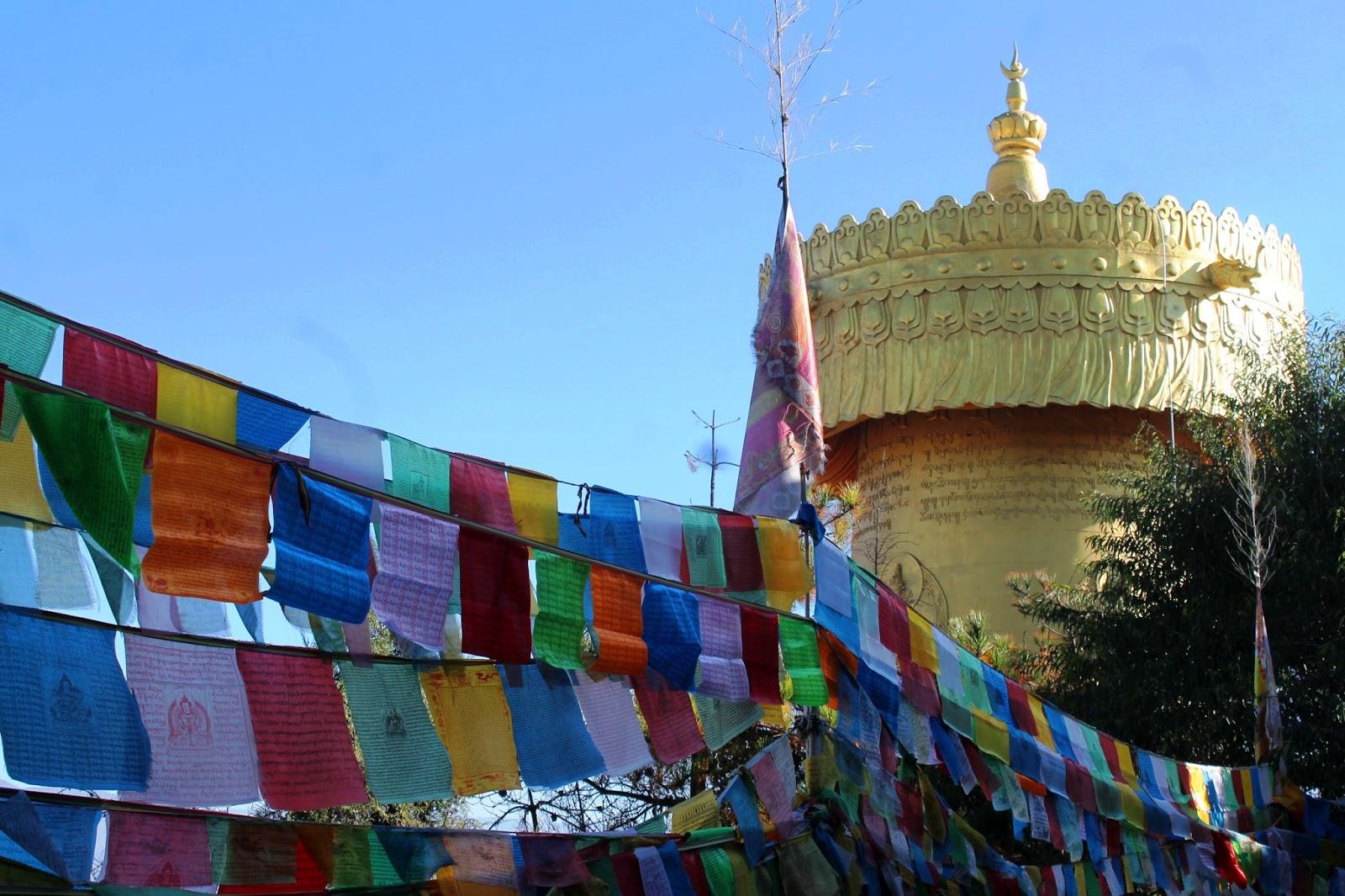 Ruota di preghiera, Shangri-la – Cina