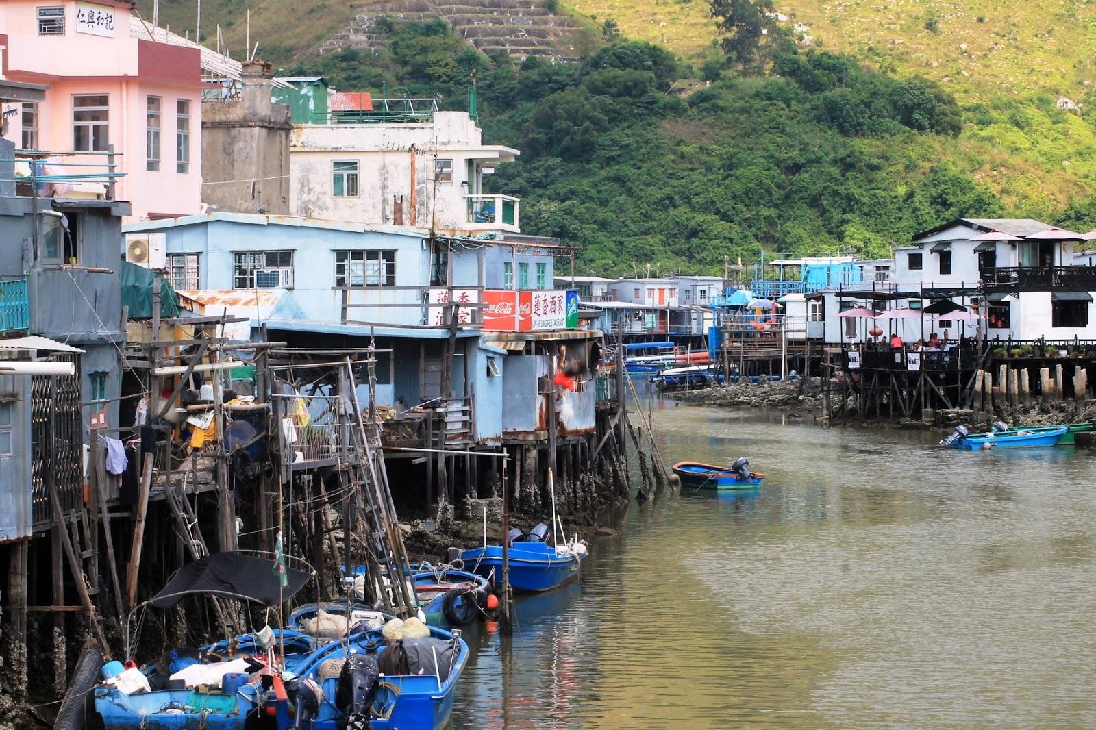 Villaggio di Tai O, Isola di Lantau – Hong Kong