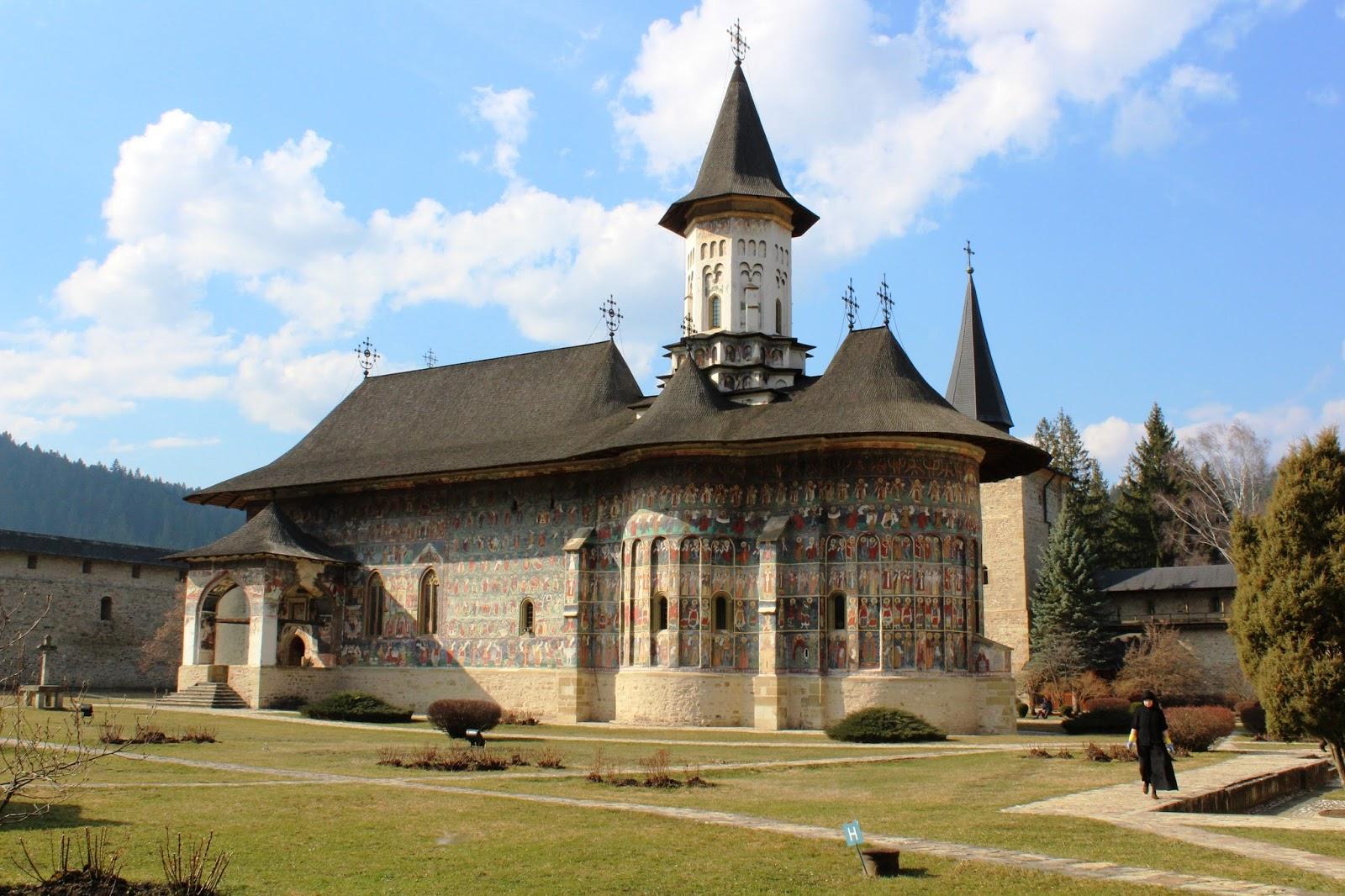 monastero sucevita bucovina romania