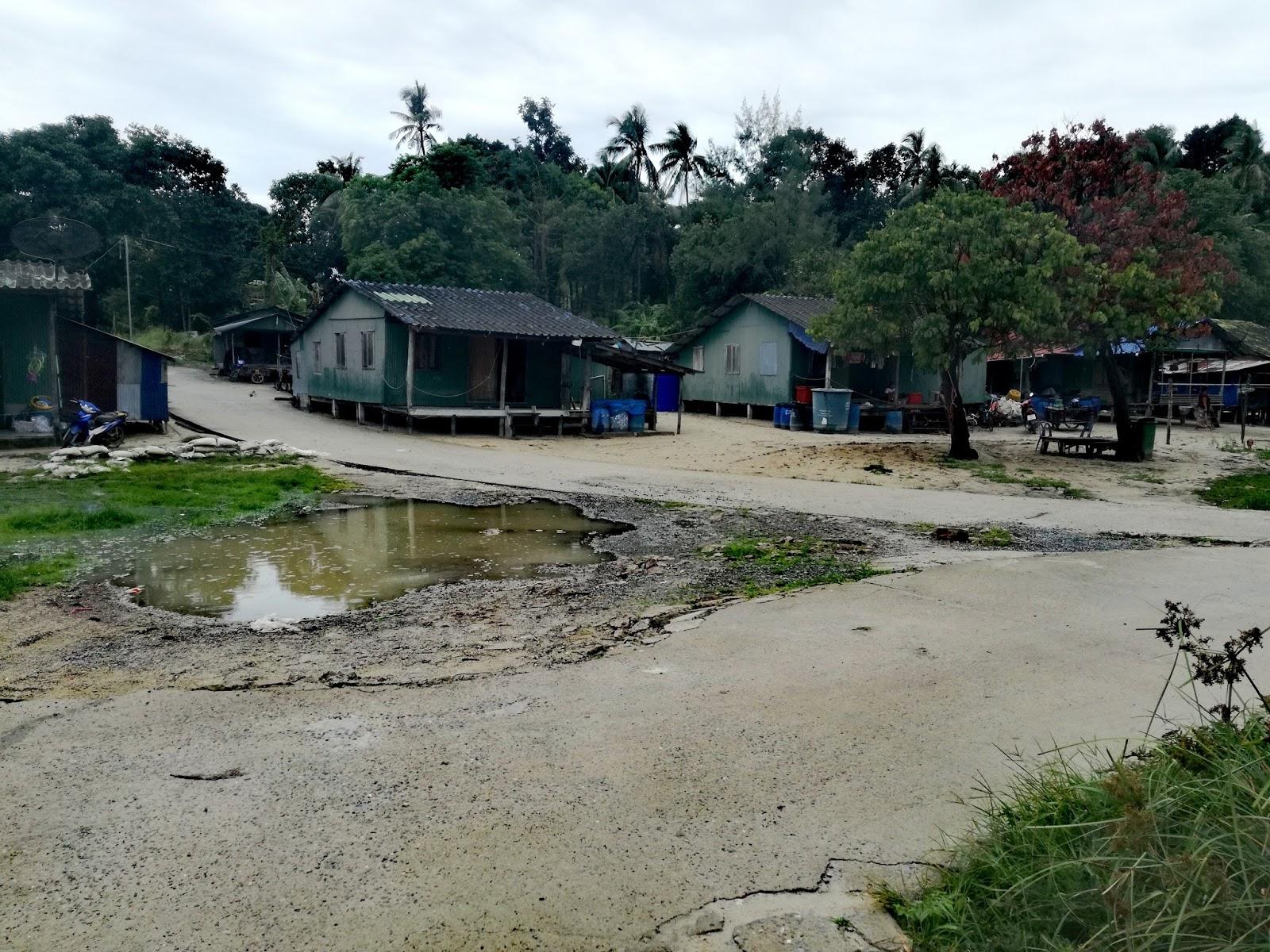 case sull'isola di Ko Lipe, Thailandia
