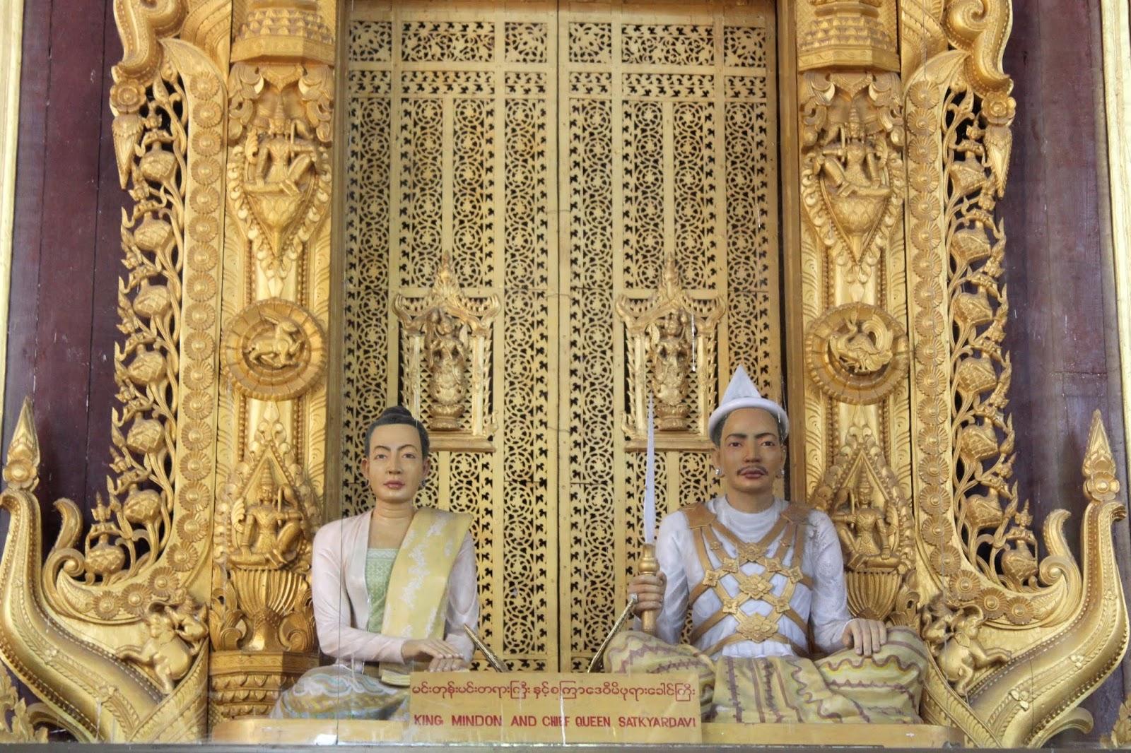 palazzo reale mandalay myanmar