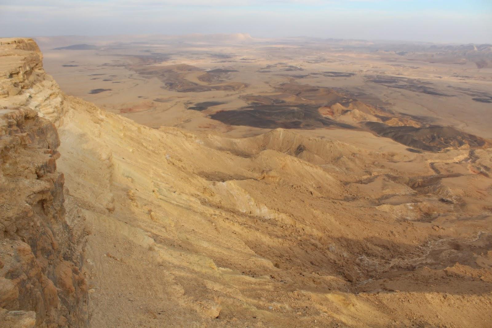 makhtesh mitzpe ramon israele