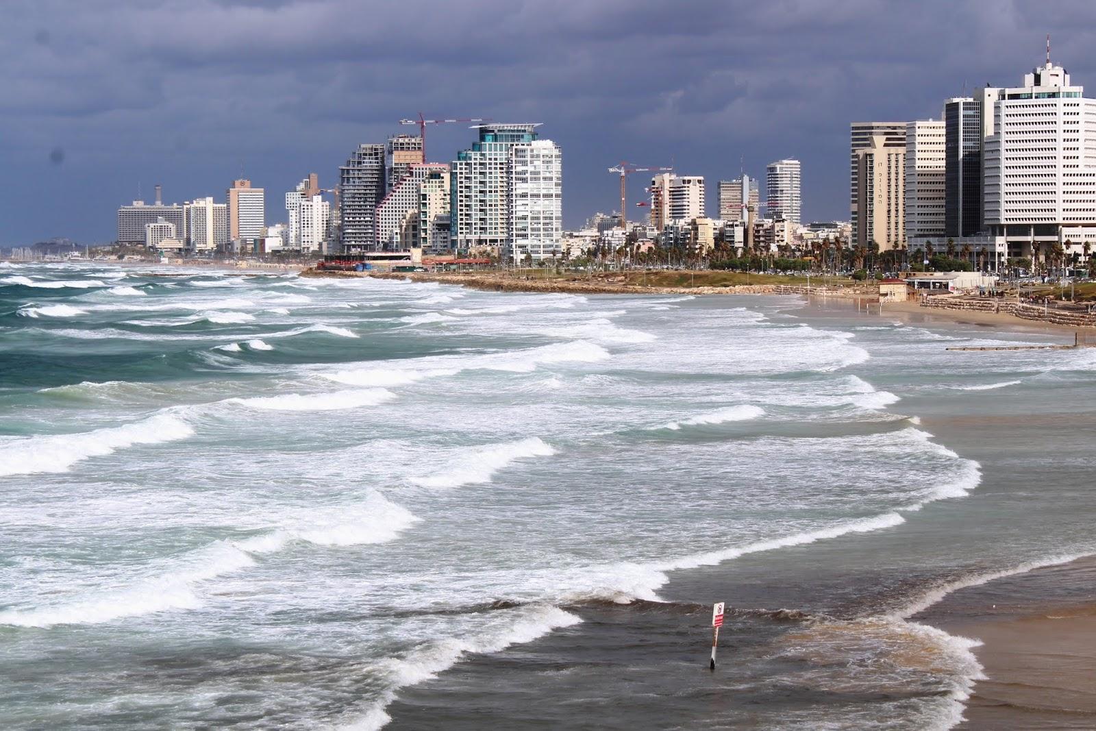città tel aviv israele