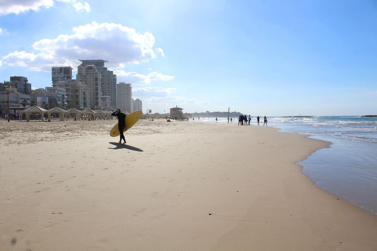 surf tel aviv israele