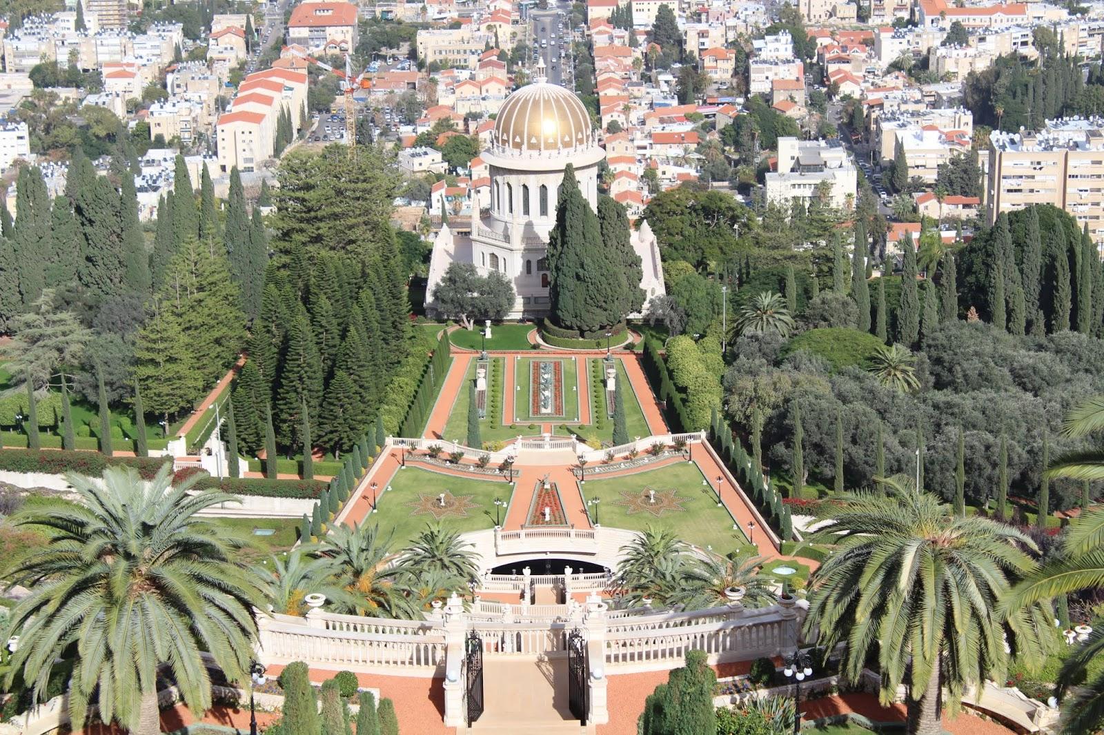 mausoleo del bab haifa israele
