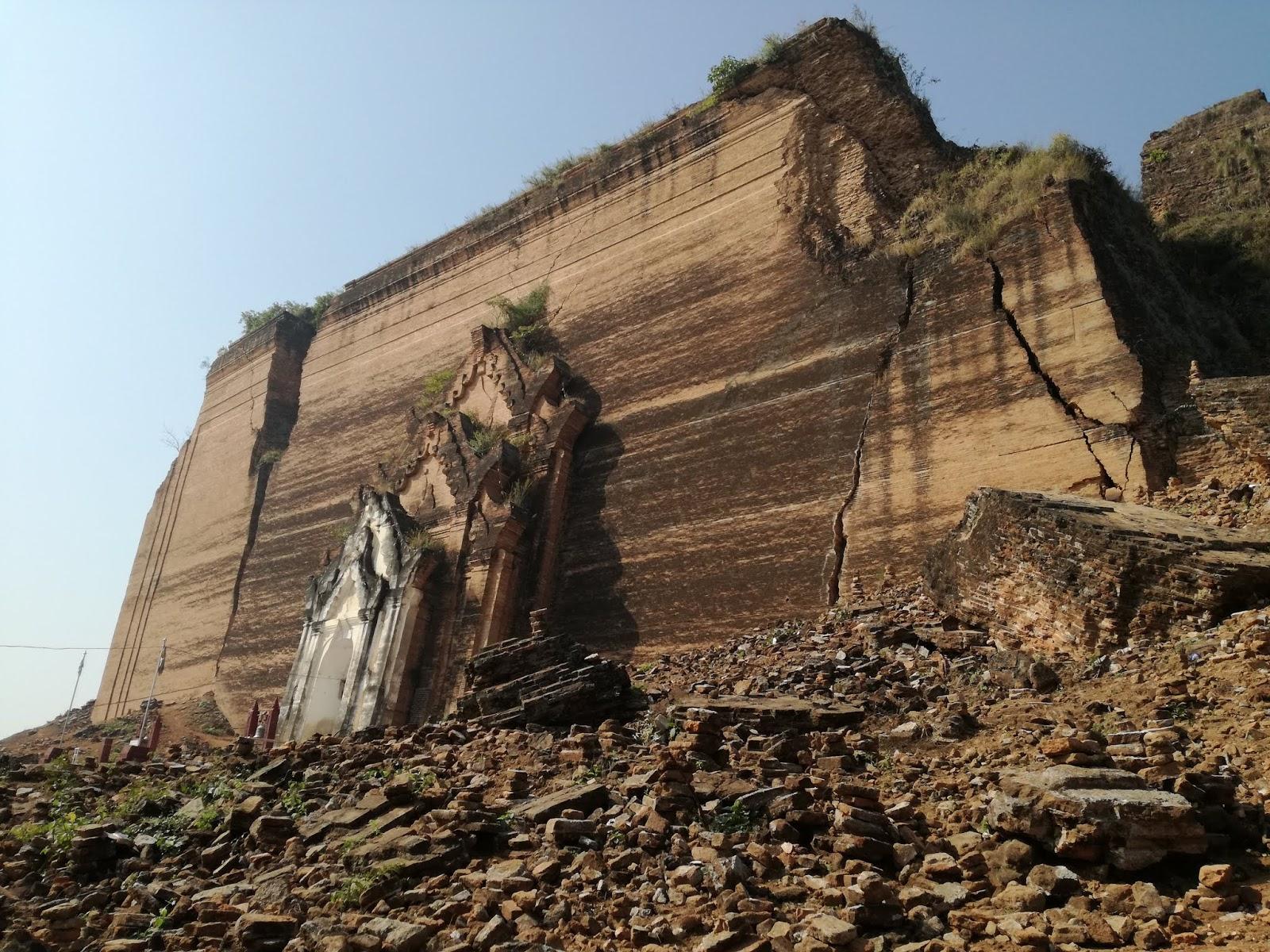 Mingun paya, Birmania