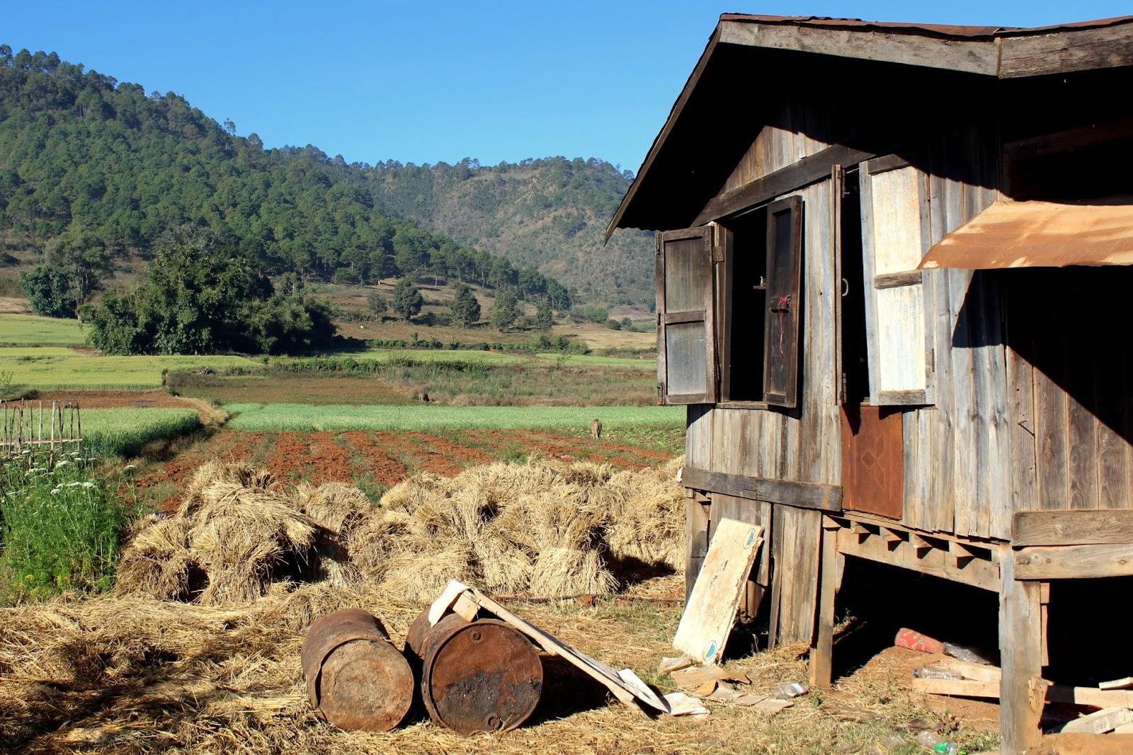 casa trekking kalaw lago inle birmania