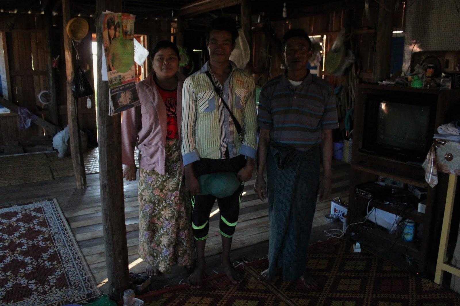 villaggio lago inle myanmar