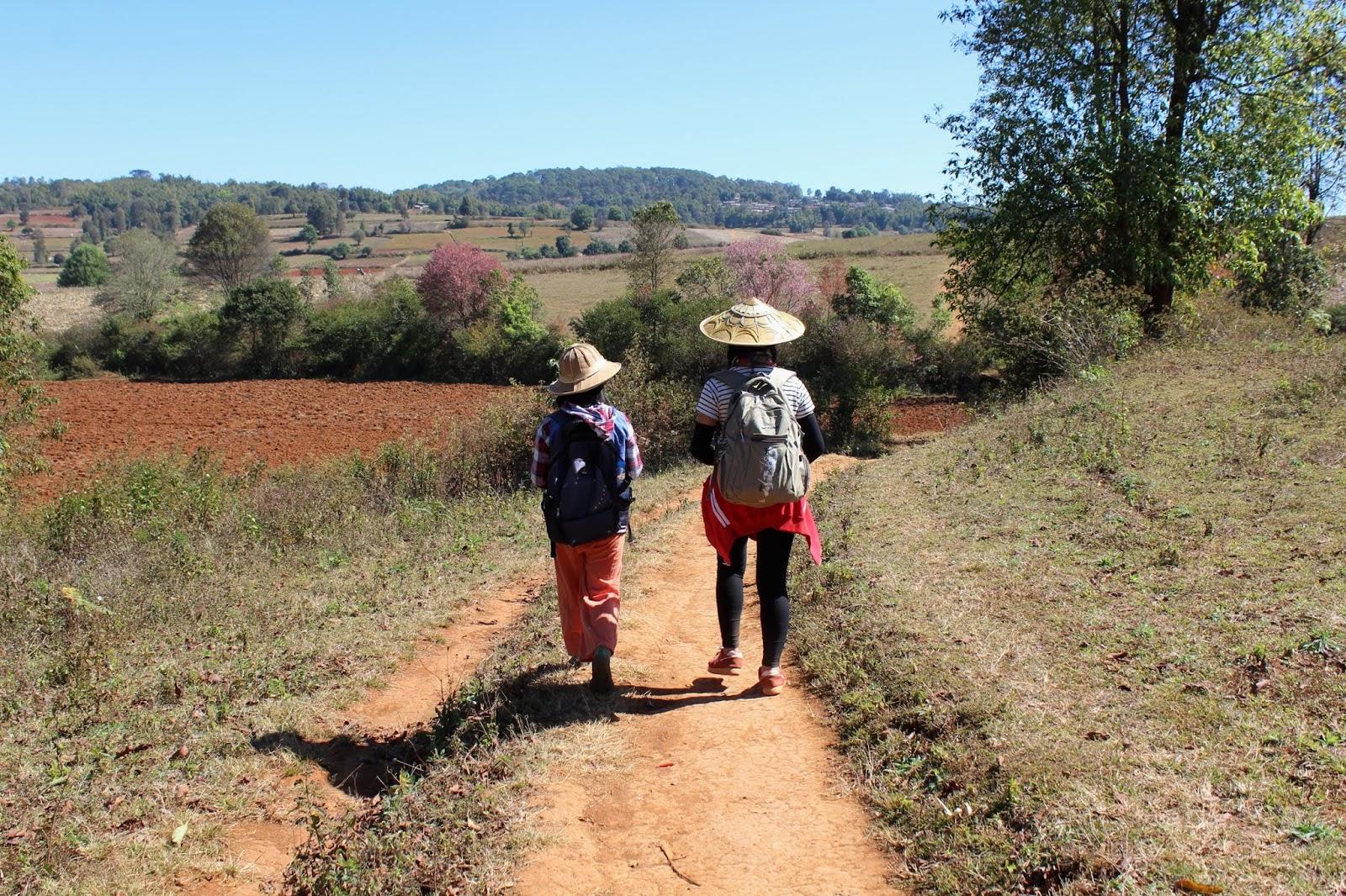trekking kalaw lago inle con guida myanmar