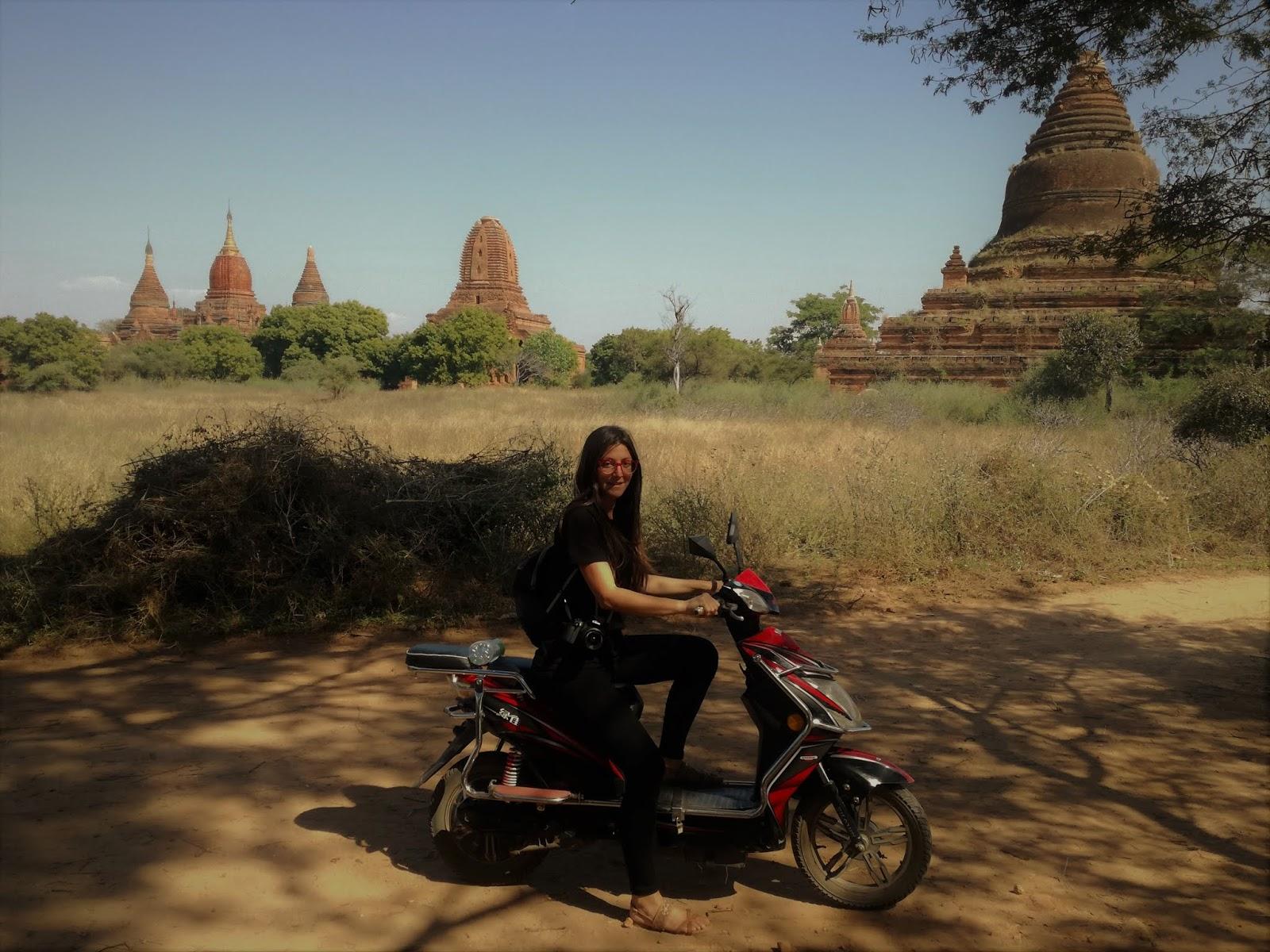 e-bike templi bagan myanmar
