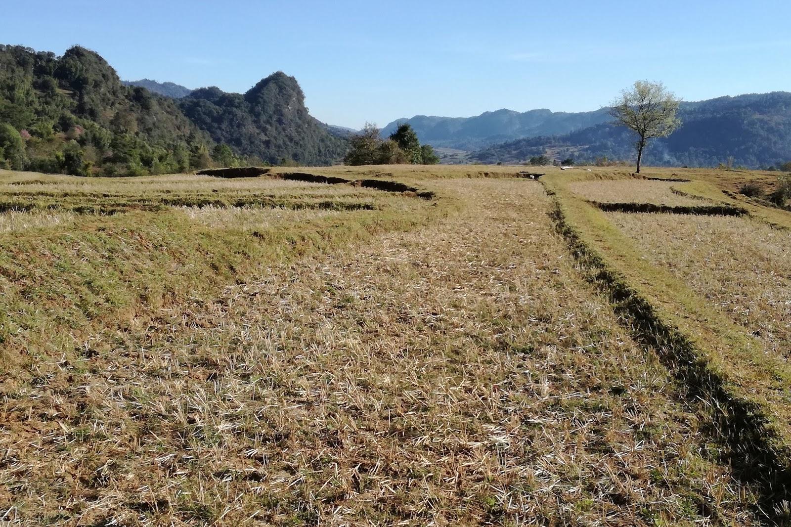 sentiero kalaw lago inle myanmar