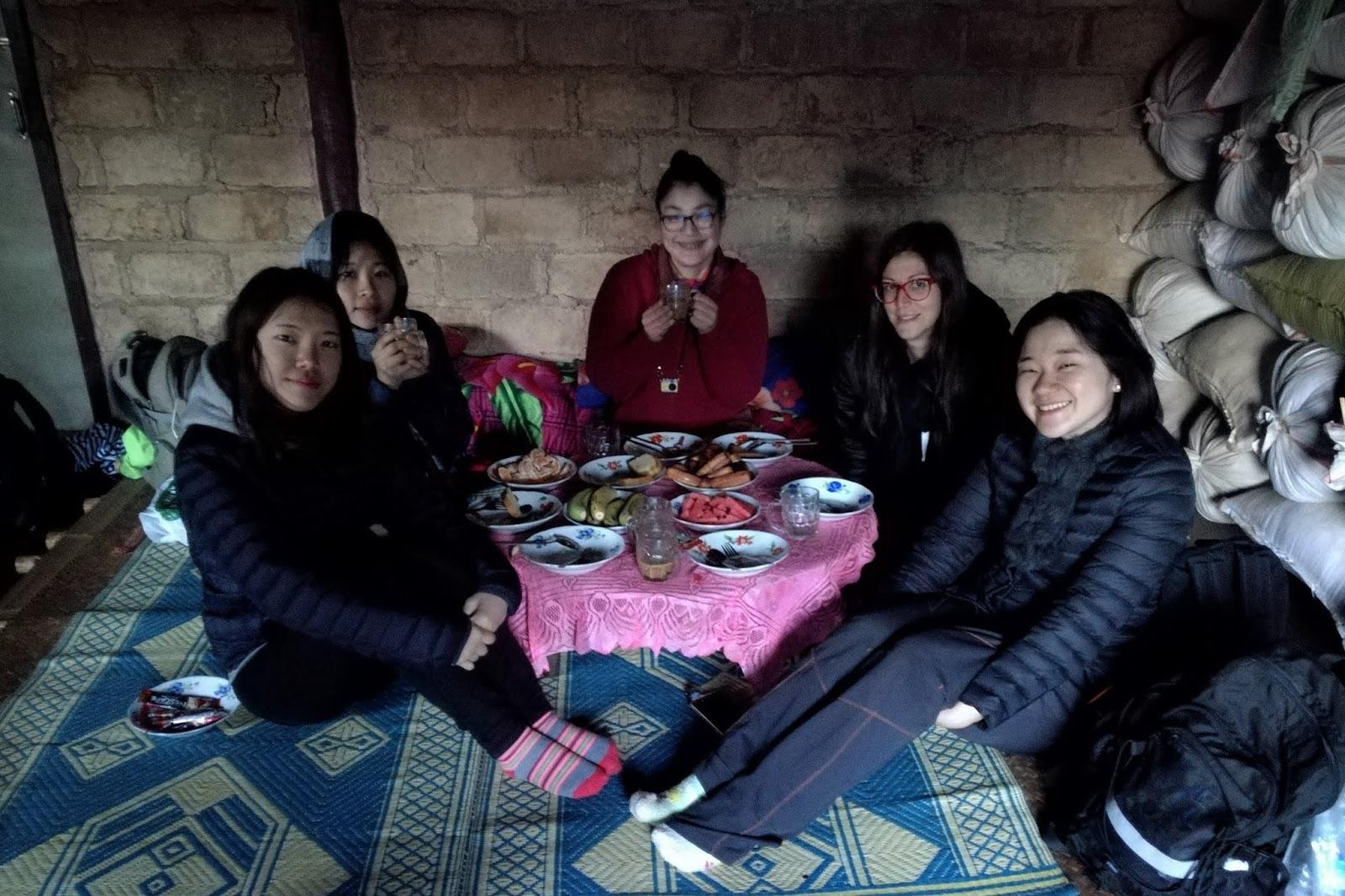 gruppo trekking kalaw lago inle