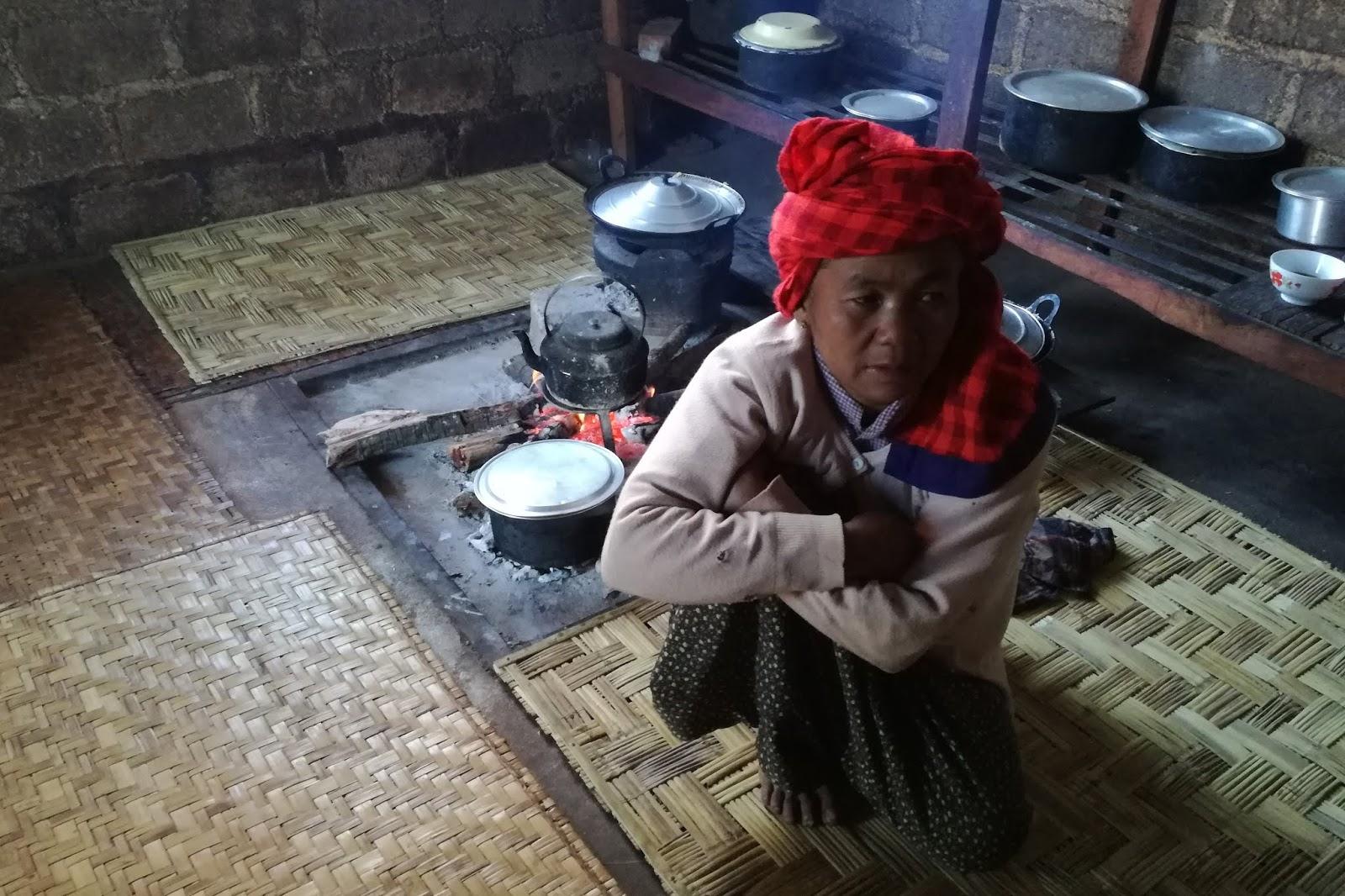 cucina trekking kalaw lago inle birmania