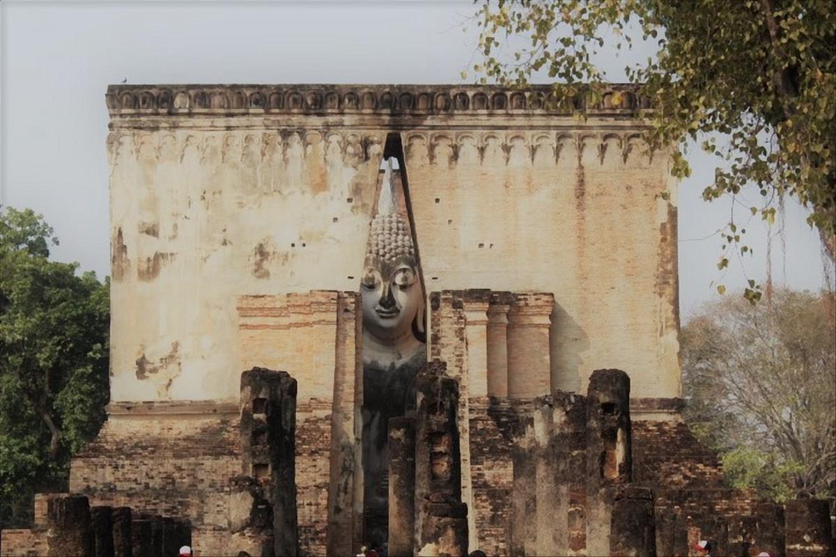 sukhothai historical park thailandia