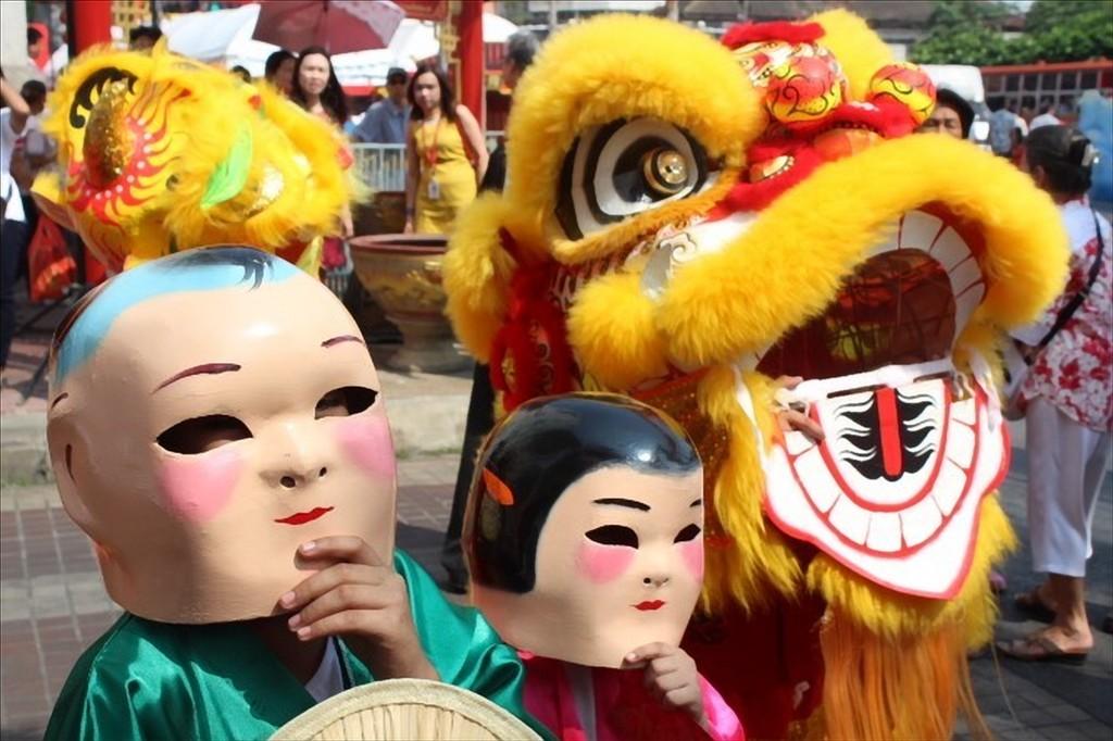 capodanno cinese bangkok thailandia