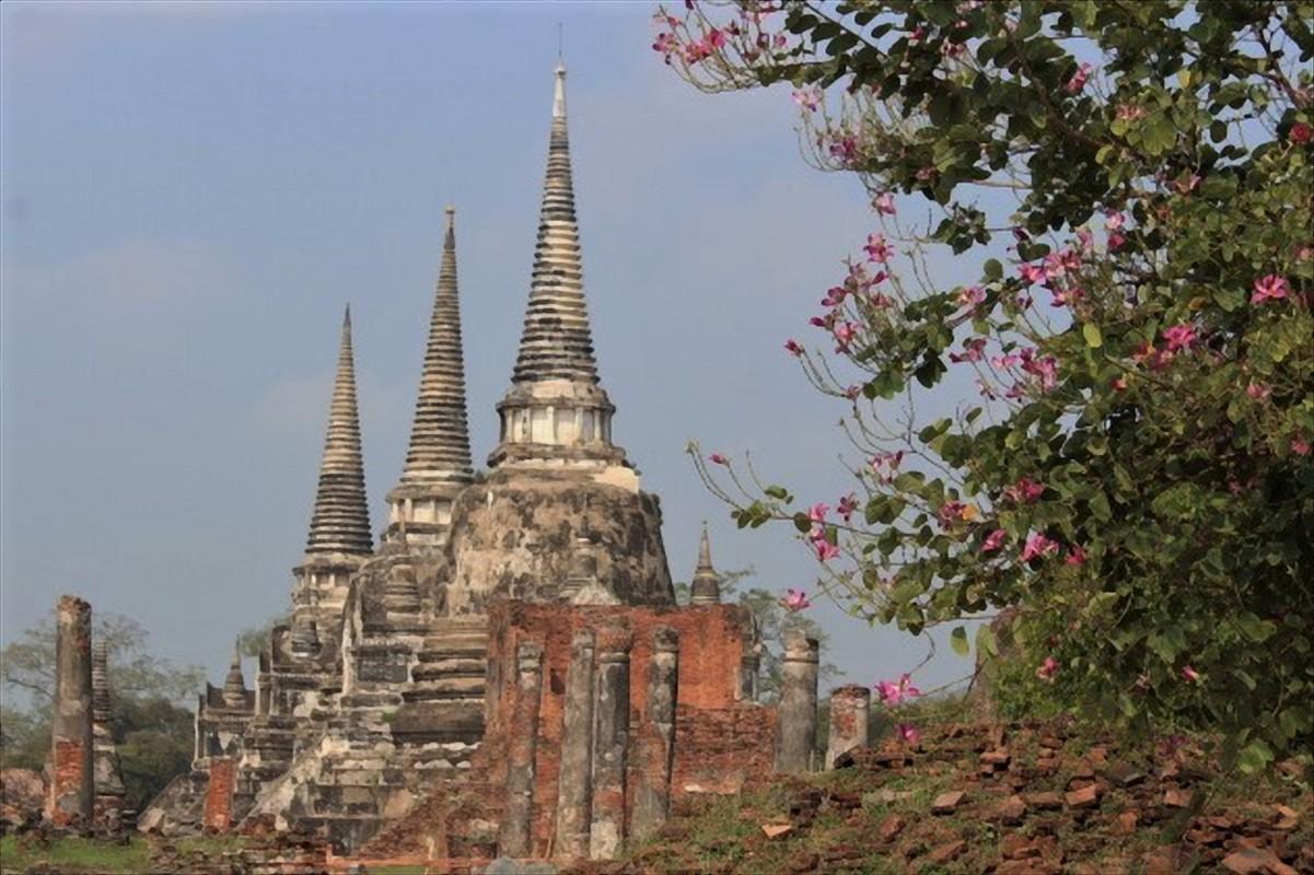 Wat Phra Si Saphet Ayutthaya thailandia