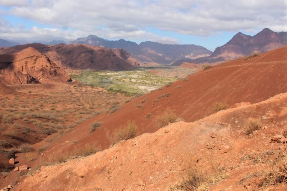 quebradas de las conchas nord-ovest argentina