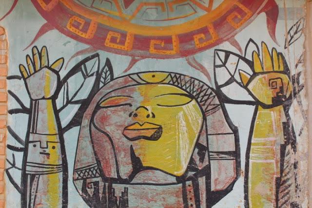 murales samaipata bolivia