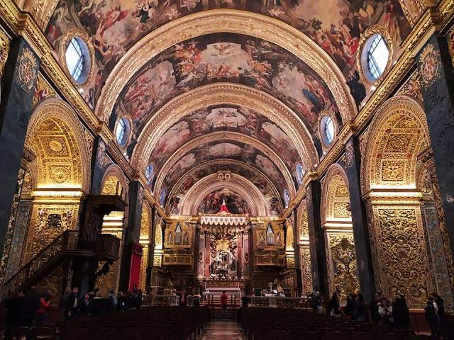 cocattedrale di san giovanni la valletta