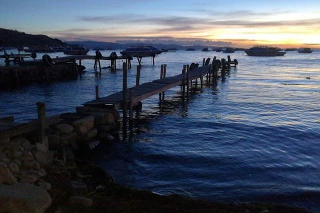 lago titicaca bolivia perù