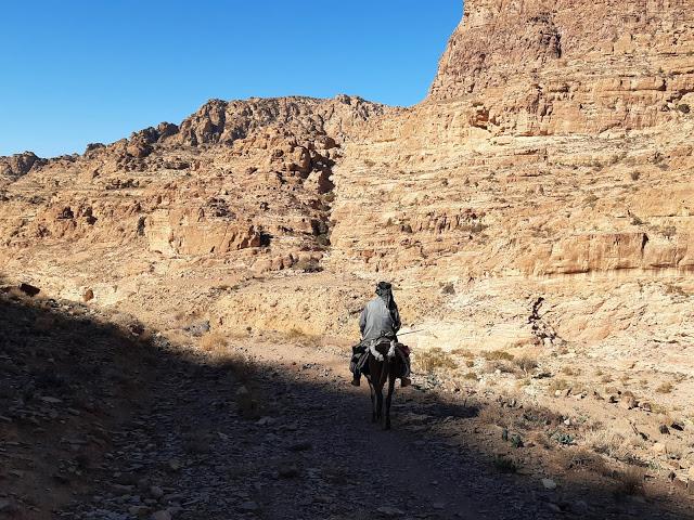 beduino wadi dana giordania