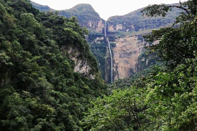cascata gocta chachapoyas perù