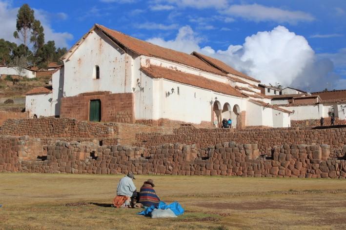 chinchero villaggio nei dintorni di cusco