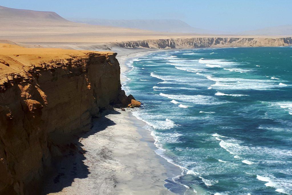 riserva nazionale di paracas spiaggia di supay