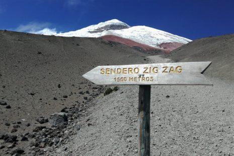 Sentiero sul Cotopaxi, Ecuador